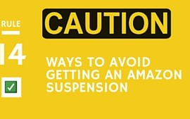 <center><b>14 Ways To Avoid Getting an Amazon Suspension</b></center>