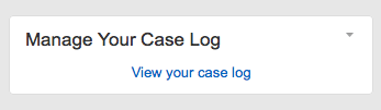 Case Log
