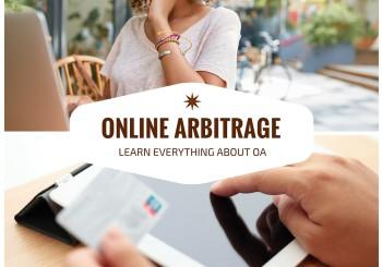 <center><b>Learn Online Arbitrage</b></center>