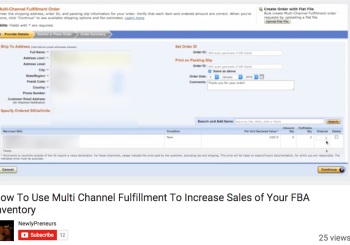 Use Multi Channel Fulfillment To Increase Sales