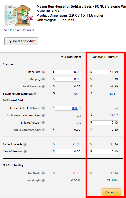 Using the Amazon Revenue Calculator To Determine Private Label Products Profitability